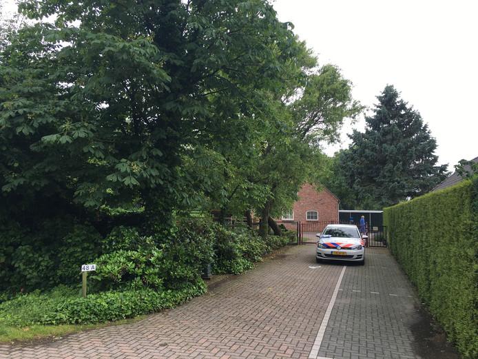 Ook de Cartierhoeve aan de Ganzestraat 48A in Hapert wordt aan een onderzoek onderworpen.