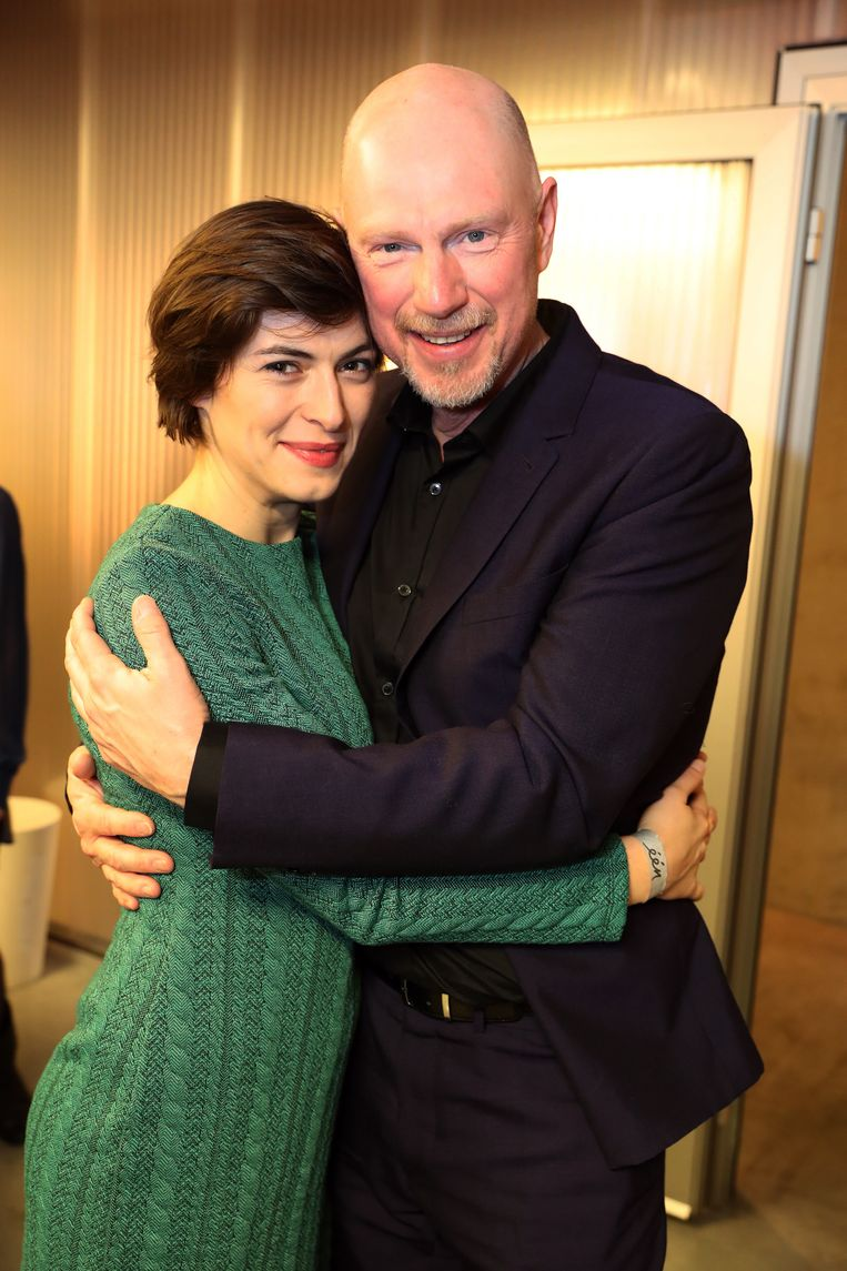 Koen Van Impe met zijn partner Anastasia