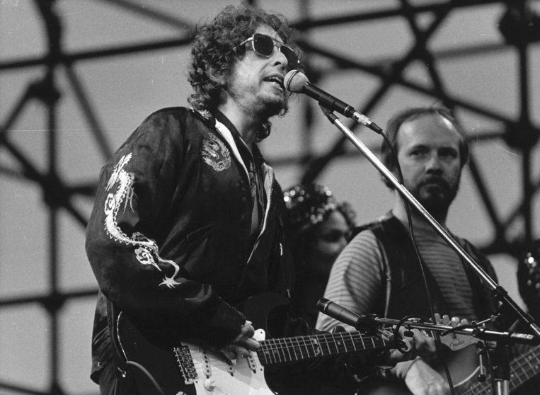 Bob Dylan in 1968. Beeld epa