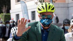 Koningshuis fietst op Autoloze Zondag