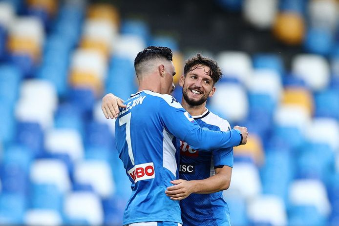 Jose Callejon et Dries Mertens.