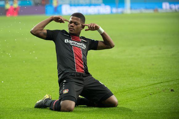 Bailey, hier in het shirt van Bayer Leverkusen.