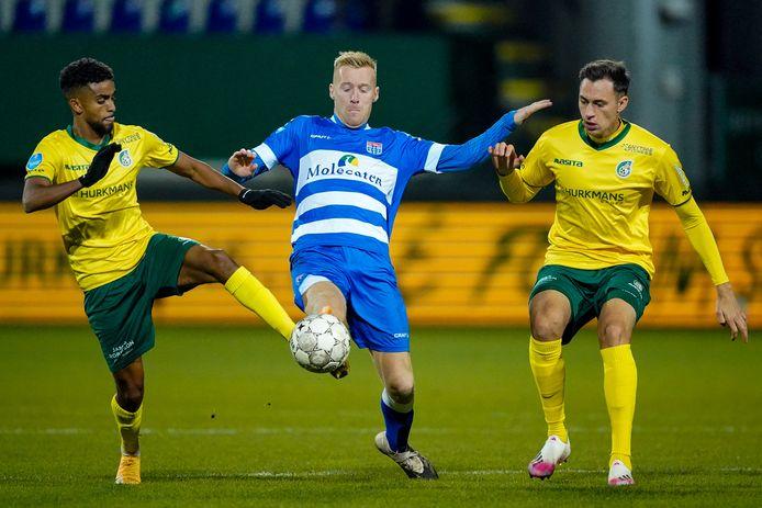 Mike van Duinen begon tegen Fortuna Sittard in de basis bij PEC en speelt zaterdag ook in Venlo.
