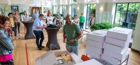 Culinaire verrassing voor 'vergeten' zorgmedewerkers in Ermelo en Harderwijk