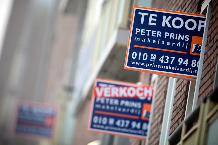 Appartementen van 60 m2 zijn voor alleenstaanden soms nog wel te betalen, maar in de randstad moet je dan al een behoorlijke spaarpot meenemen