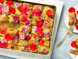 Wat Eten We Vandaag: Baklava met rozensiroop en pistache