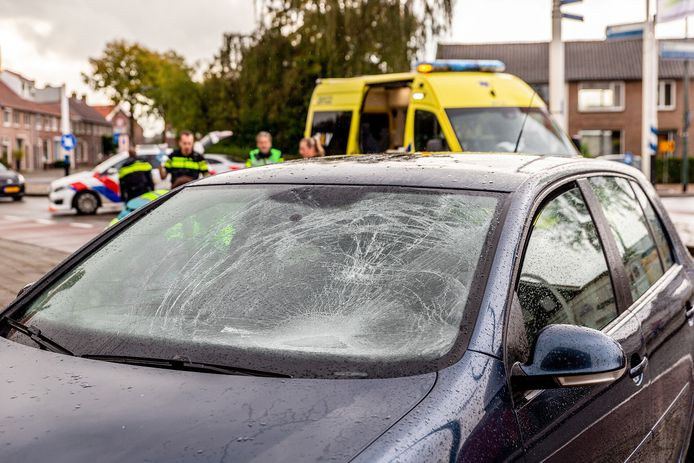 Fietsster gewond bij ongeluk in Oosterhout.