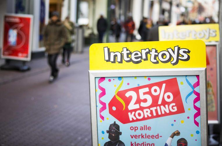 Intertoys vroeg uitstel van betaling aan.  Beeld ANP
