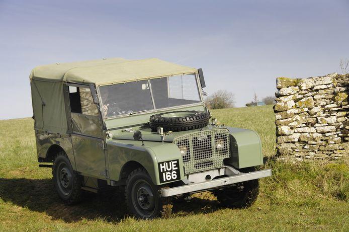 Land Rover Defender preproductiemodel (1948)