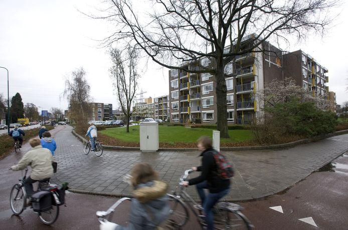 De Freule Lauta van Aysmaflat in de Kerkewijk in Veenendaal die door de in geraakte stichting is gebouwd.
