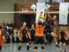Shock schokt Volt: Volleybalvete in Cuijk
