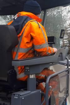 Asfaltfrees maakt van Graafsebaan weer even Oude Rijksweg