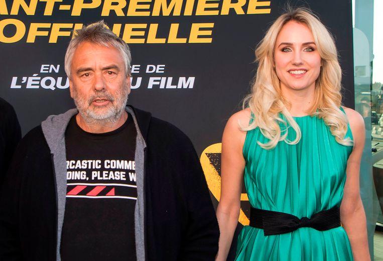 Luc Besson en Sand Van Roy