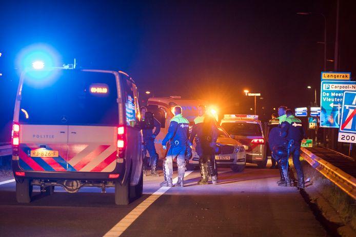 De politie had de handen vol aan de ADO-, Feyenoord- en Utrecht-supporters die op een confrontatie met elkaar uit waren.