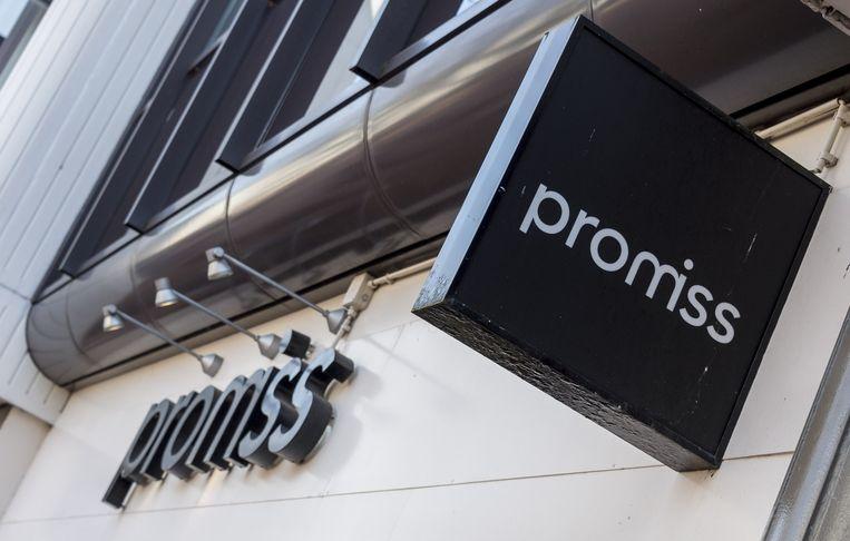 Exterieur van modeketen Promiss. Etam stopt na zijn doorstart met zelfstandige kledingwinkels met de naam Promiss. Promiss blijft wel als merk behouden, maar zal niet meer op de gevels staan. Beeld anp