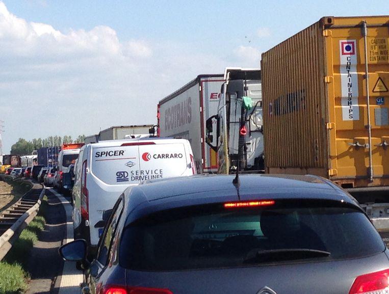 Beelden van inhalende vrachtwagen op de Havenweg behoren tot het verleden