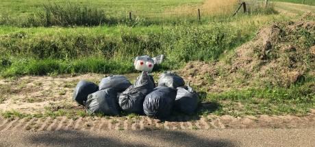 Drugsafval gedumpt in Holtheme