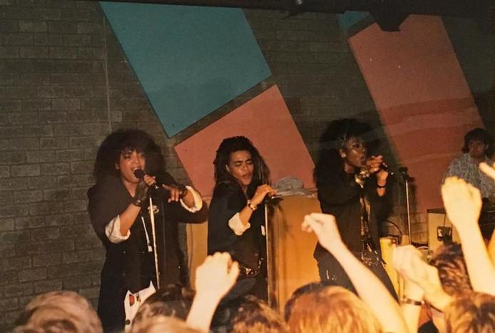 Mai Tai in Flash Nieuwegein, medio jaren 80.
