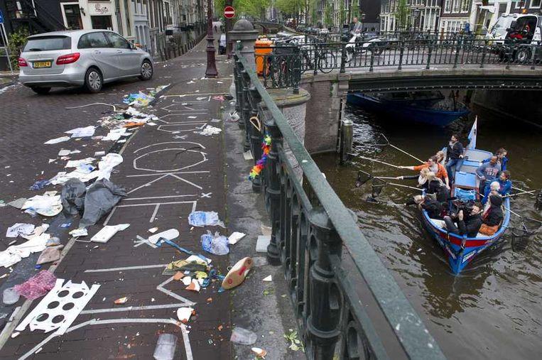 Amsterdam centrum, vandaag. Beeld anp