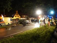 Drie gewonden bij frontale aanrijding in Renswoude