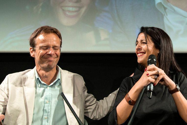Patrick Dupriez en Zakia Khattabi.
