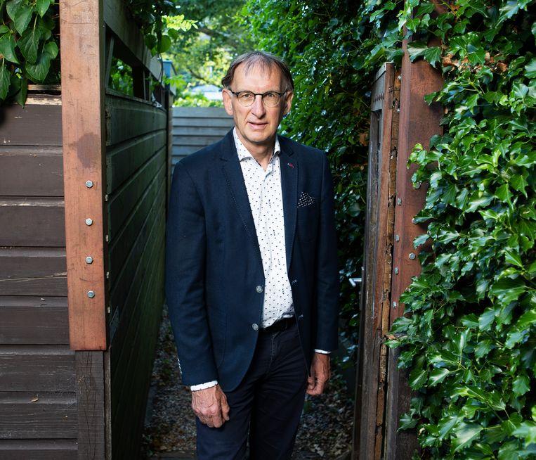 Wim van Saarloos was KNAW-president tussen juni 2018 en juni 2020. Beeld Martijn Gijsbertsen