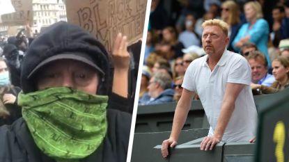 """Tennislegende Boris Becker verbijsterd over haatreacties nadat hij demonstratie tegen racisme bijwoont: """"Ik ben geschokt en bang"""""""