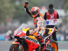 Broers Márquez zegevieren bij MotoGP en Moto2 op Le Mans