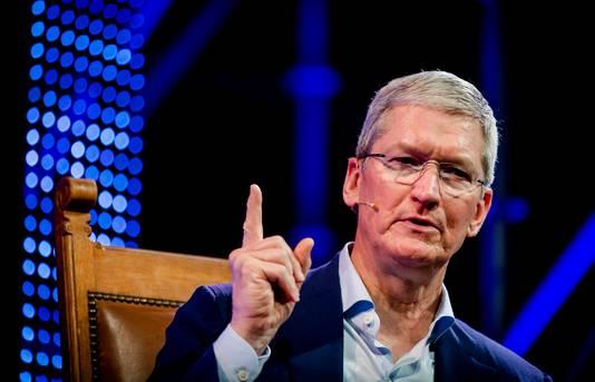 Apple-baas Tim Cook was maandag openingsspreker van Startup Fest Europe, de week die ons land als hotspot voor innovatieve bedrijfjes op de kaart moet zetten