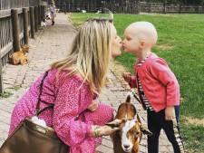 Laatste chemo voor 'sterk prinsesje' Chantal Bles en Robert Doornbos