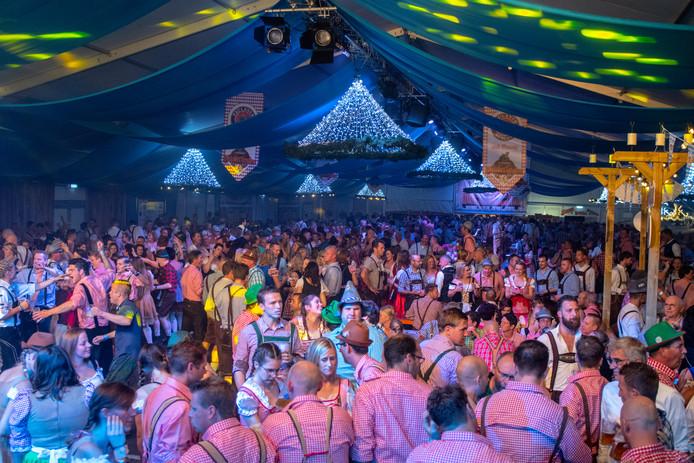 Groot feest bij de Alphense Oktober Feesten