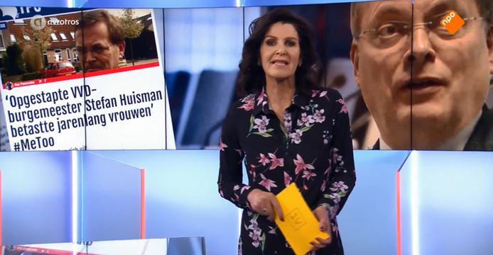 Tv-programma EenVandaag besteedde woensdagavond aandacht aan de affaire-Huisman.