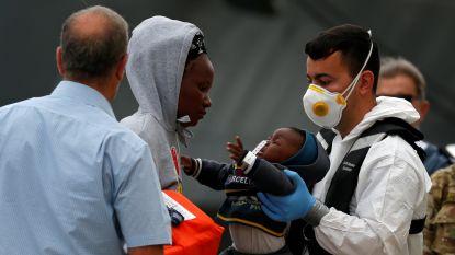 Meer dan 200 migranten gered in Middellandse Zee