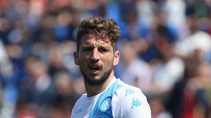 Kopbalgoal Mertens levert Napoli slechts een punt op in Sassuolo