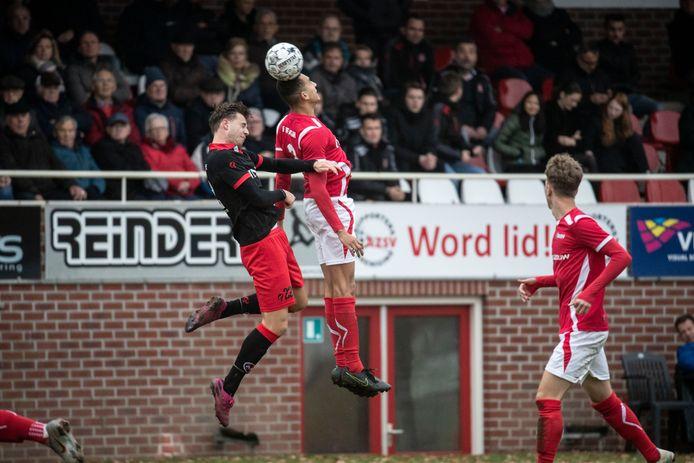 AZSV speelde gelijk tegen ARC uit Alphen aan den Rijn.