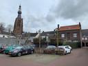 Een deel van het bouwplan van Verheggen moet naast een parkeerplaatsje achter de Gelderstraat komen. De Taskforce Woningbouw vindt dat geen goed idee, kreeg Verheggen te horen.