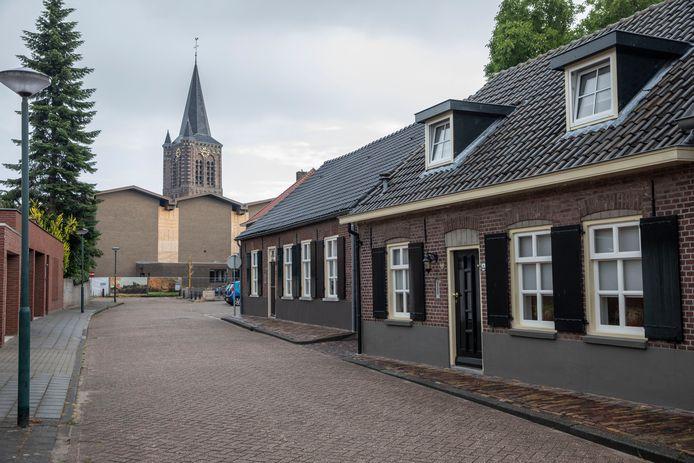 De Kerkstraat in Son en Breugel.