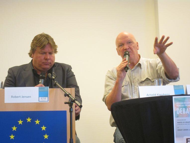 Jensen en Karskens: 'wij'. Beeld