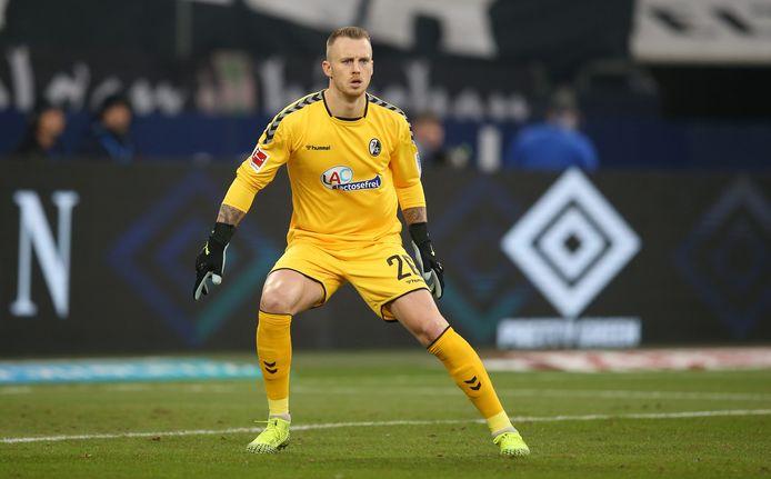 De Nederlandse doelman Mark Flekken van SC Freiburg.
