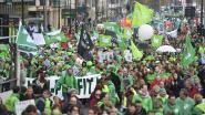 Spoorlopers sturen avondspits in de war na betoging non-profit