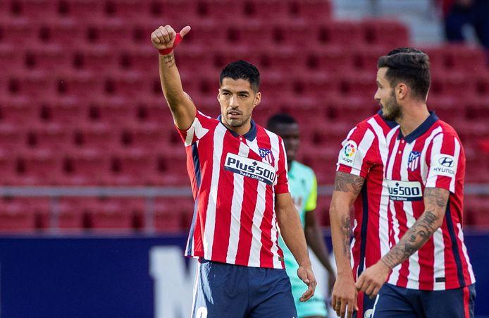 L'aventure démarre fort pour Luis Suarez à Madrid.