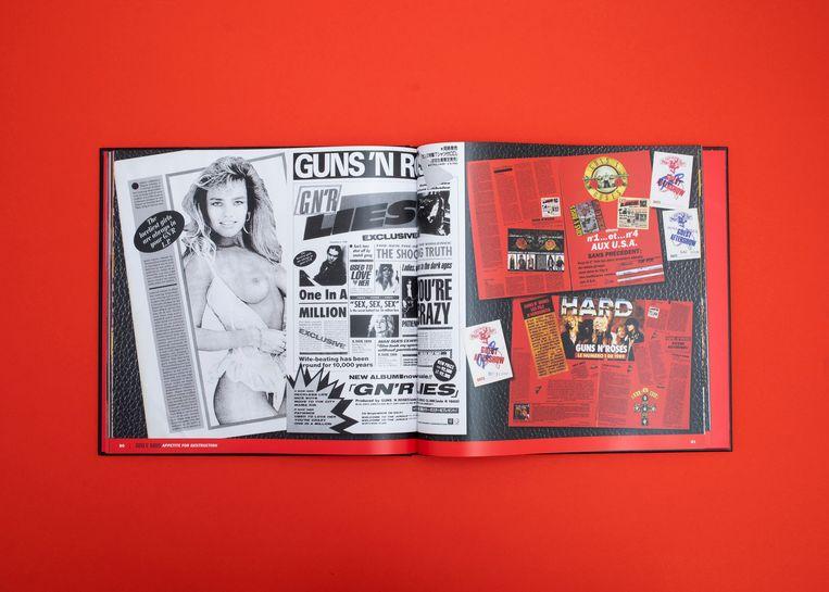 De box van Guns 'n Roses Beeld Studio V