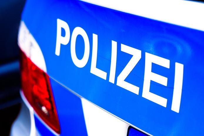 De Duitse politie. Foto ter illustratie.