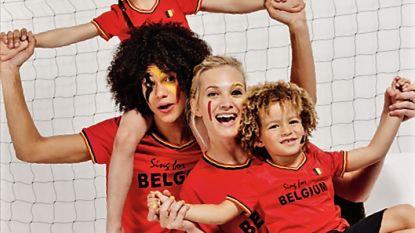 Nu ook zingend voetbalshirt voor kinderen om Rode Duivels op WK aan te vuren