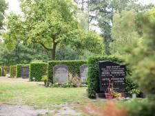 Op deze begraafplaats in Almelo recyclen ze de grafstenen