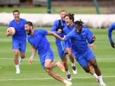 Giroud humilie Batshuayi à l'entraînement, les joueurs de Chelsea exultent