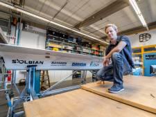 Max (21) uit Nieuwegein stopt jaar met studie om mee te bouwen aan zeewaardige zonneboot
