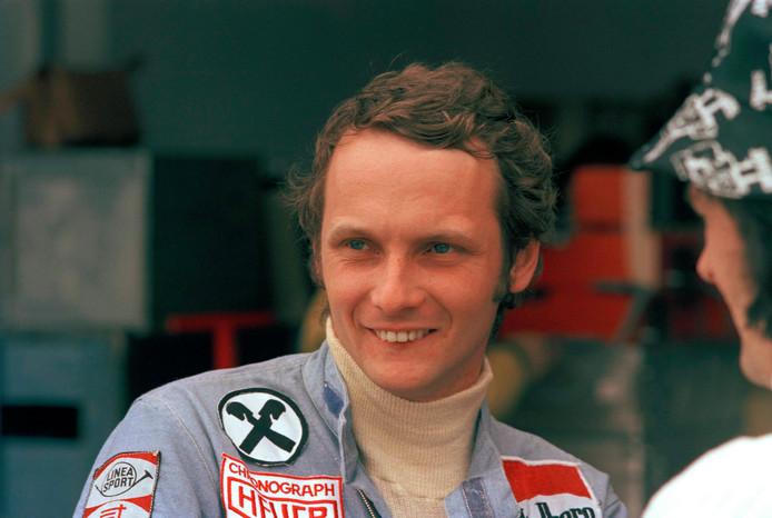 Niki Lauda in 1975 in Buenos Aires.