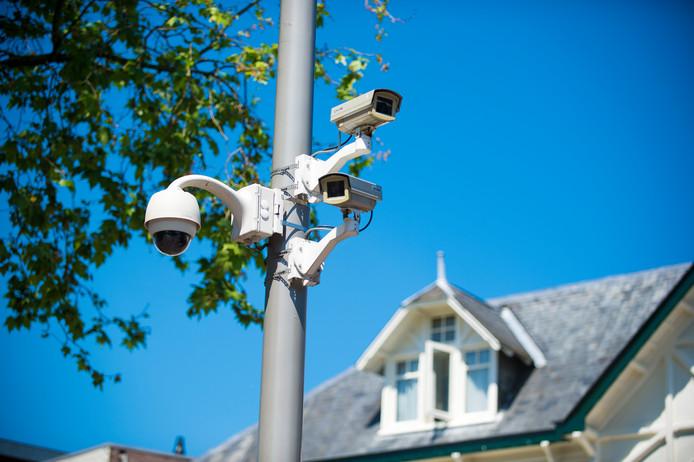 Beveiligingscamera's in het centrum van Apeldoorn zijn verouderd.