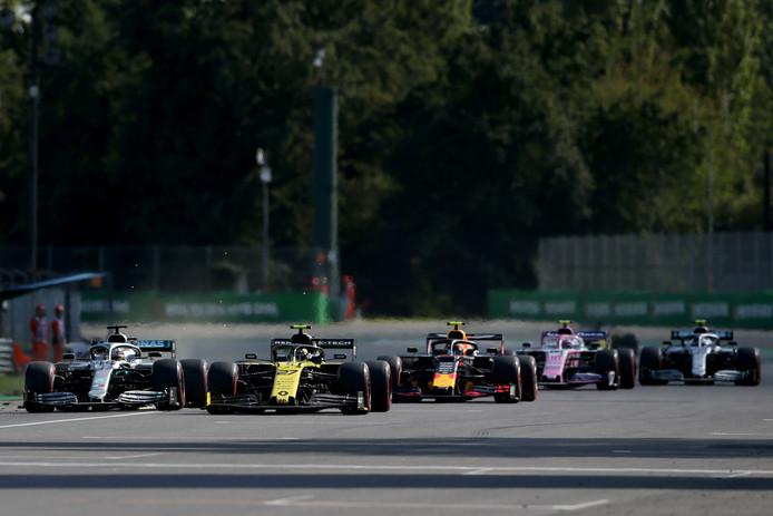 De kwalificatie op Monza kende zaterdag een merkwaardige ontknoping.